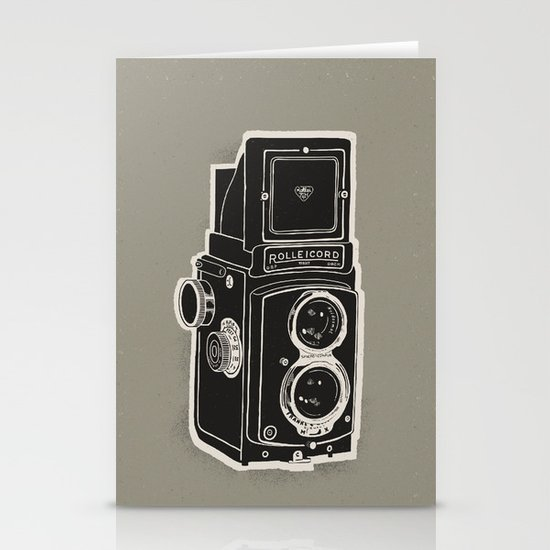 Rolleicord Stationery Card