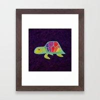 Prismacolor Shell Framed Art Print