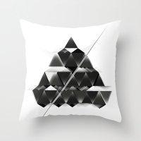 PYRAMID_ Throw Pillow