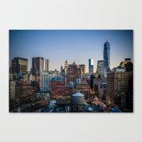 Manhattan Skyline Canvas Print