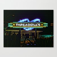 Threadgills ~ Austin, Te… Canvas Print