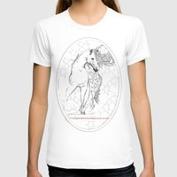 horses T-shirts featuring Horses  by Magdalena Almero