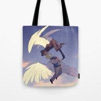 A Nightingale Sang Tote Bag