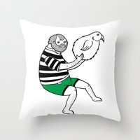 On The Strange And Contr… Throw Pillow