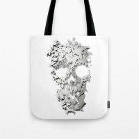 Simple Skull Tote Bag