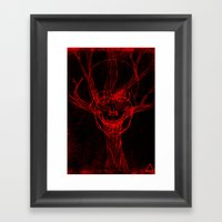 Apple Tree Death Framed Art Print
