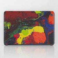 Abstract Colibrii. iPad Case