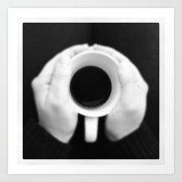 Coffee Moment Art Print