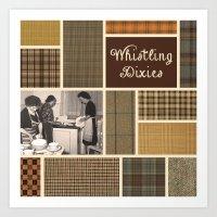 Whistling Dixies Art Print
