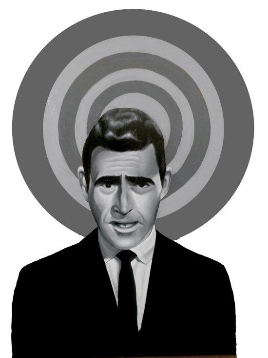 Rod Serling Canvas Print