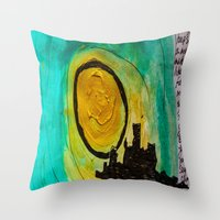 Man Of The City Throw Pillow