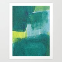 Water And Color 8 Art Print