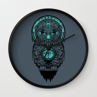 Guardian Of The Lost Wall Clock