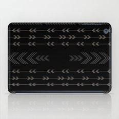 Headlands Arrows Black iPad Case