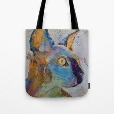 Sphynx Cat Tote Bag