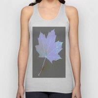 Canadian Maple Leaf Unisex Tank Top