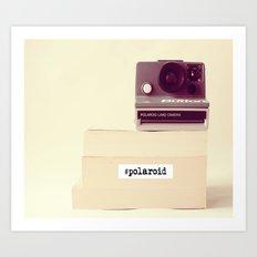 Polaroid Typography Art Print