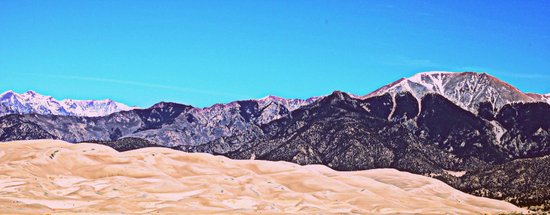 Great Sand Dunes II Canvas Print