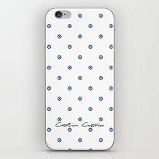 Bon Chance Blanc iPhone & iPod Skin