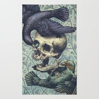 Bowerbirds Rug