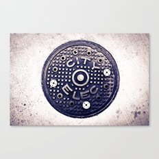 City Electric Canvas Print