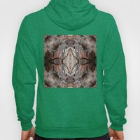 Petrified Wood in Abstract Hoody