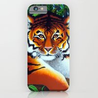 iPhone & iPod Case featuring Tiger by Annette Jimerson