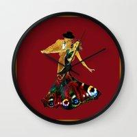 DANCERS - La Fiesta Wall Clock