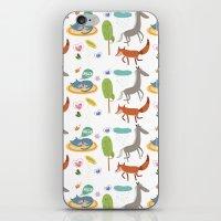 Happy animals iPhone & iPod Skin