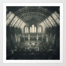 London - Natural History Museum Art Print