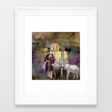 Circus king  Framed Art Print