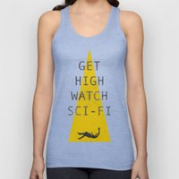 watch sci-fi Unisex Tank Top