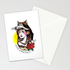 Chica Lobo Stationery Cards