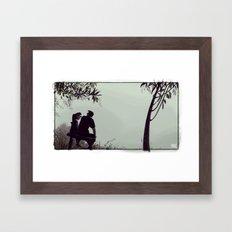 El Banquito Framed Art Print