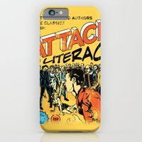 iPhone & iPod Case featuring Attack of Literacy by Joshua Kemble