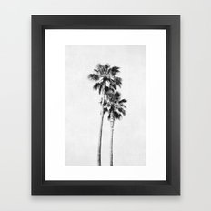 Palms Framed Art Print