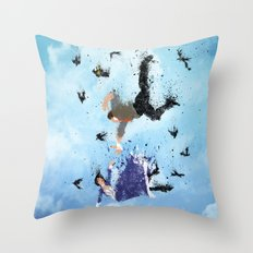 Land Of America Throw Pillow