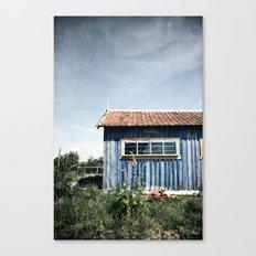 La Cabane bleue Canvas Print