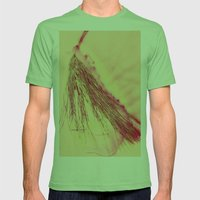 Pine Needles Mens Fitted Tee Grass SMALL