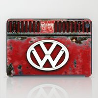 VW Retro Red iPad Case