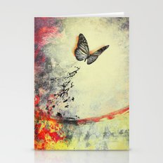 Waterfly III Stationery Cards