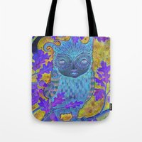 Oak & Owl Tote Bag
