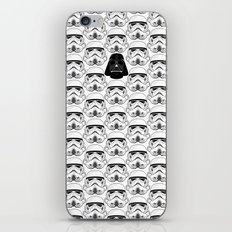 Stormtrooper pattern iPhone & iPod Skin
