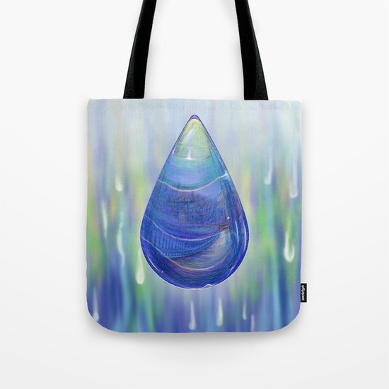 Drip Drop - Painting Tote Bag