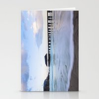 Hanalei Bay Pier At Sunr… Stationery Cards