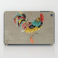 Rooster Mardi iPad Case