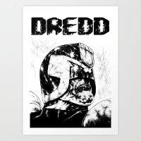 Dredd Art Print