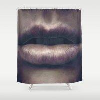 Osculum Shower Curtain