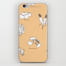 Fruit And Vegetables iPhone & iPod Skin