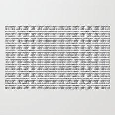 The binary code Rug